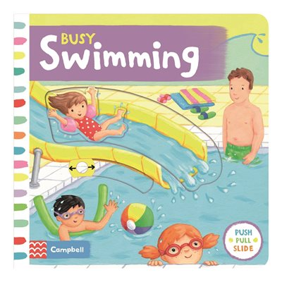 Book cover for Busy Swimming